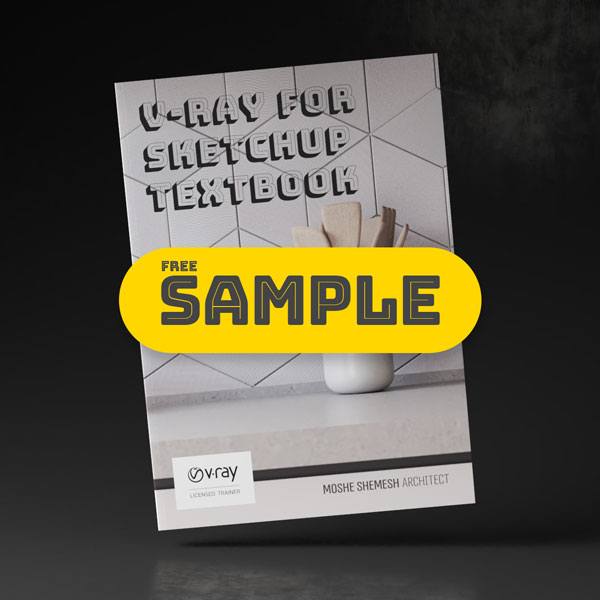 V-Ray for SketchUp Textbook - Sample