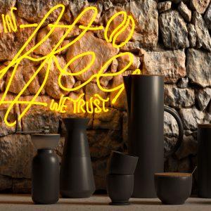 in Coffee we trust neon sign