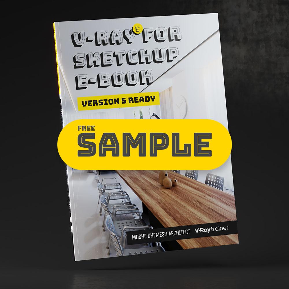 V-Ray for SketchUp Textbook - Sample